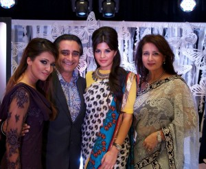 Stars gather for fashion fundraiser
