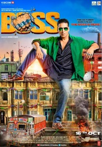 Akshay launches 'Boss' trailor