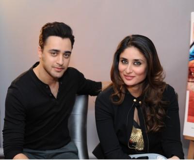 Kareena & Imran talk 'Gori Tere Pyaar Mein'