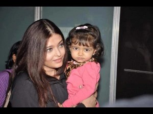 No make-up for baby Bachchan