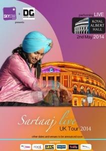 Sartaj gets set for Royal Albert Hall!