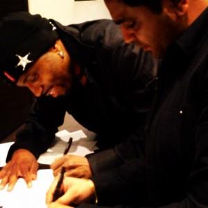 Rishi signs with Teddy Riley