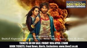 Sonakshi & Shahid to set UK stage alight!