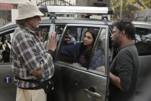 Deepika & Big B in PIKU