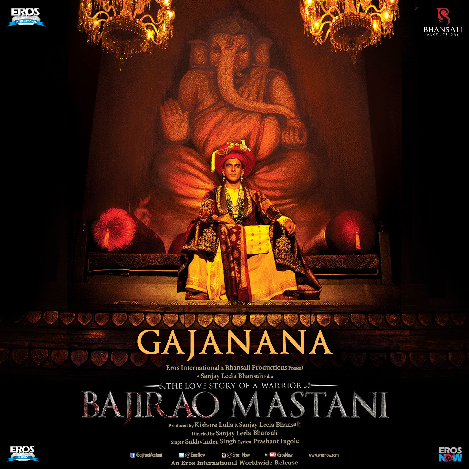 Bajirao Mastani sets world record