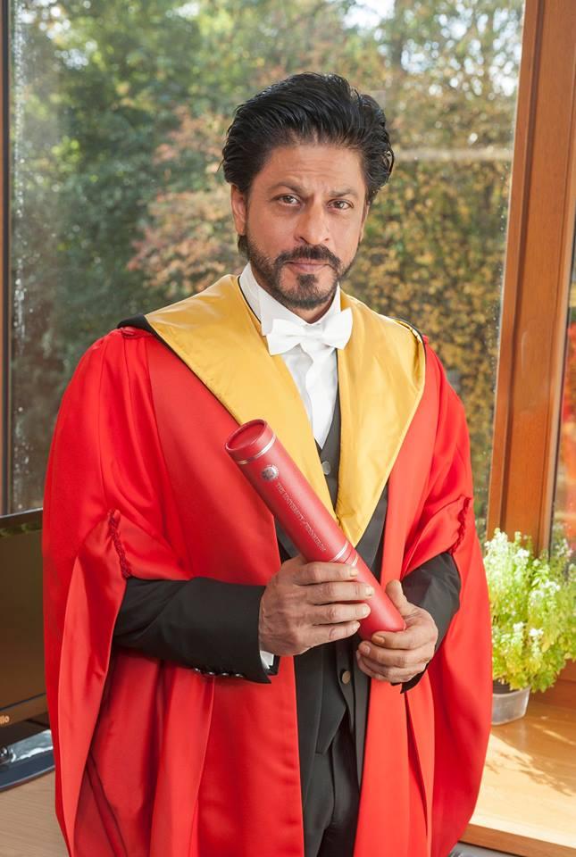 Shah Rukh Khan awarded Doctorate degree