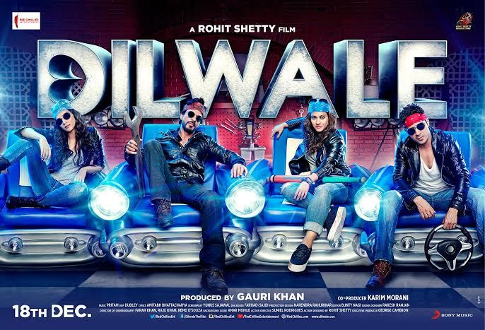 'Dilwale' is unveiled