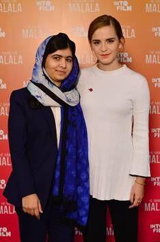 Emma Watson meets Malala Yousafzai