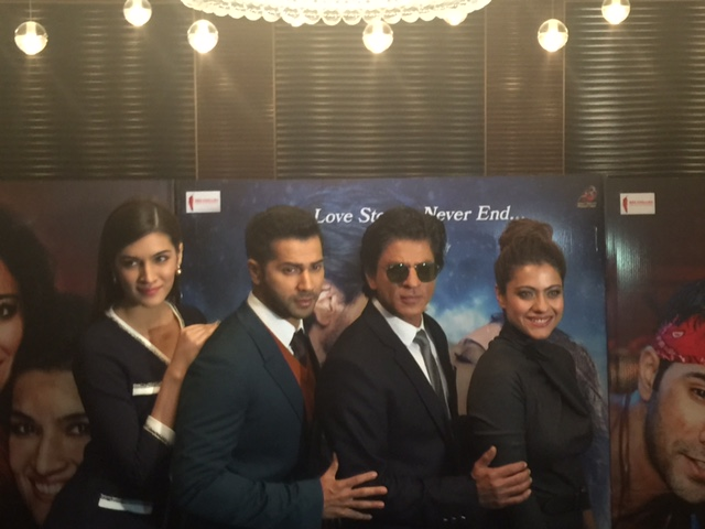 Dilwale UK press conference!