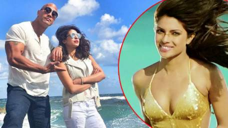 Priyanka Chopra films for the 'Baywatch' movie