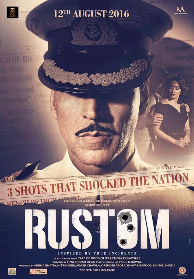 1st Poster of Akshay Kumar's Rustom Revealed!
