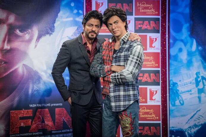 SRK reveals 'FAN' inspired wax figure