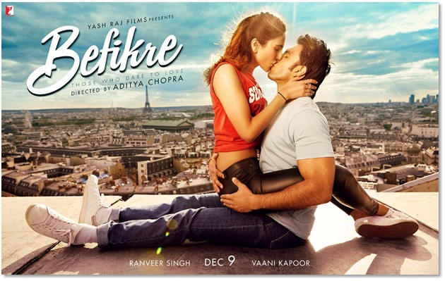 Raunchy 'Befikre' poster released