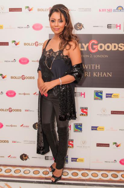 Gauri Khan inaugurates BollyGoods in London