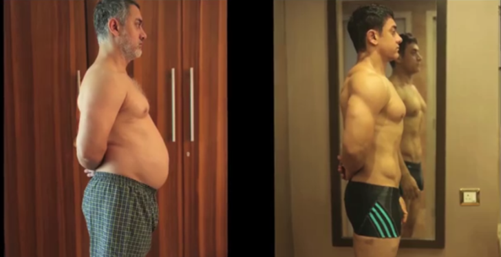 Aamir takes over the web with his transformation