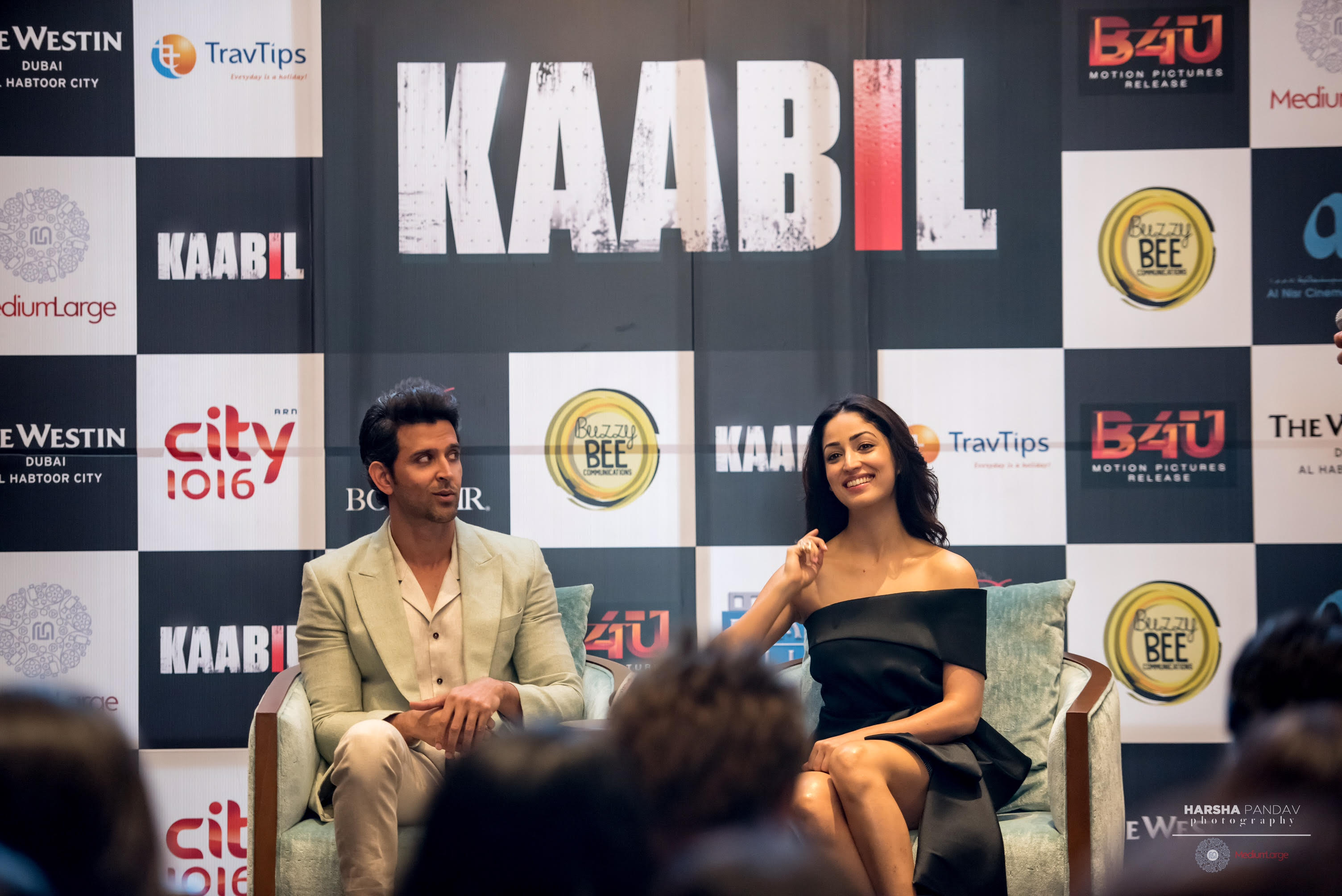 Hrithik & Yami take centre stage in Dubai