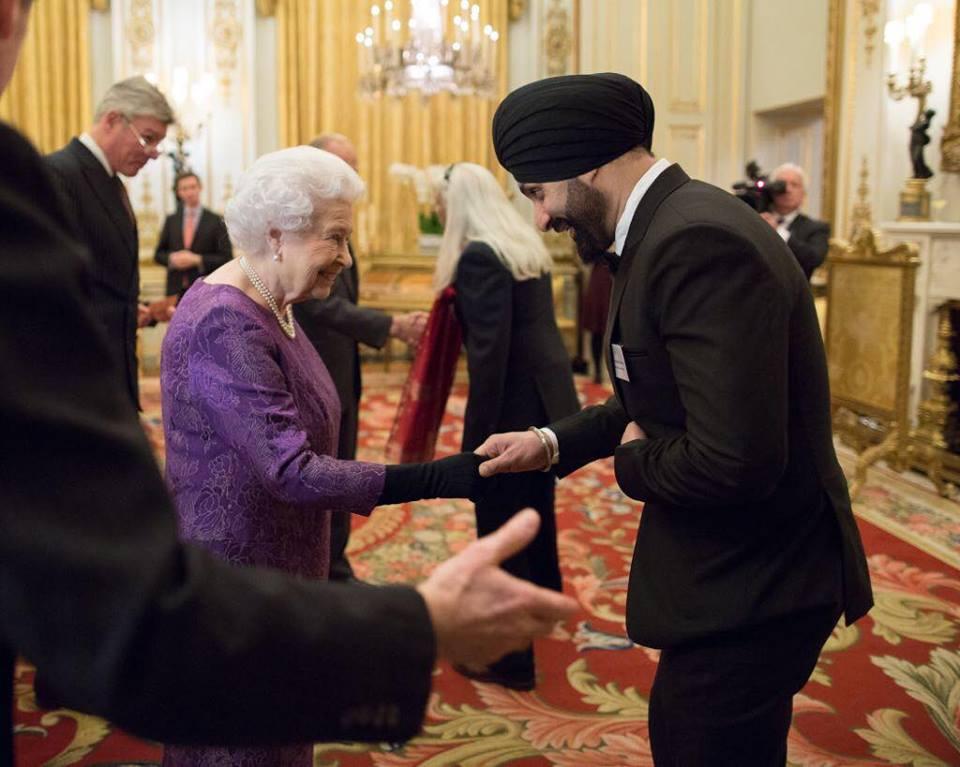 Gurdas Maan & Sukhshinder Shinda meet The Queen
