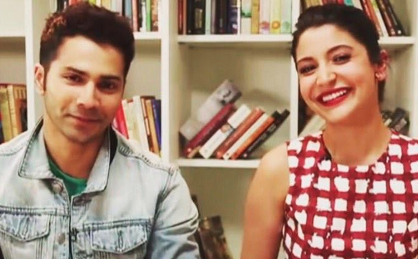 Anushka & Varun Dhawan together for 1st time