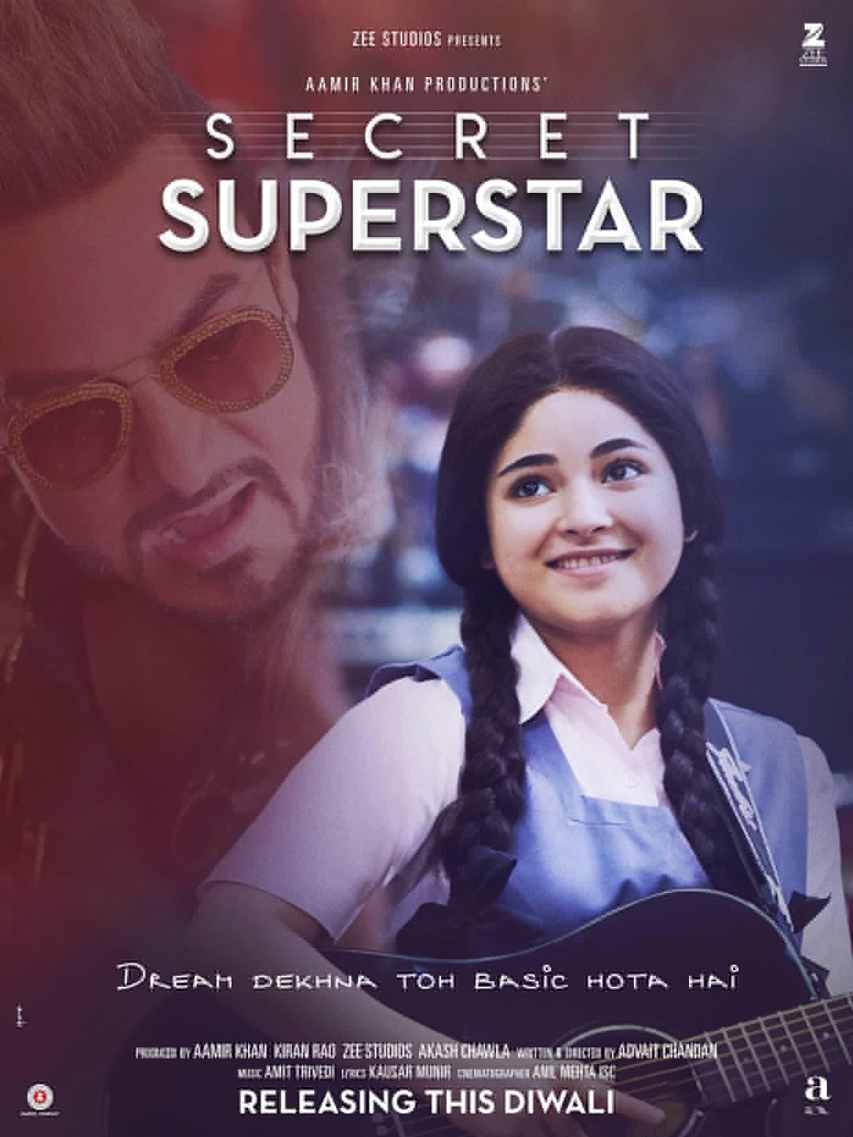 Aamir Khan's Secret Superstar trailer launched