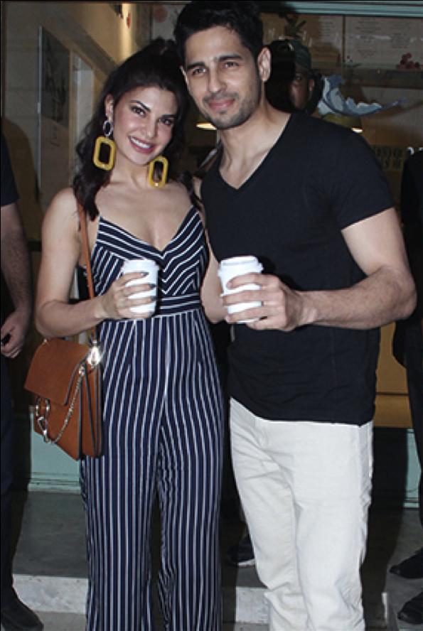 Jacqueline & Sidharth promote 'A Gentleman'