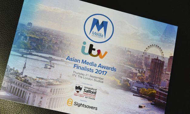 Asian Media Awards 2017 finalists