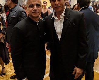 Bollywood Glitterati Welcomes Sadiq Khan