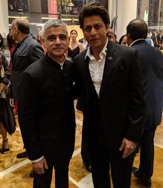 Bollywood Glitterati Welcomes Sadiq Khan