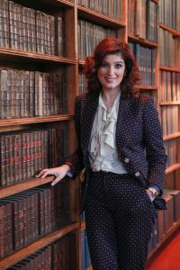 Twinkle Khanna at The Oxford Union