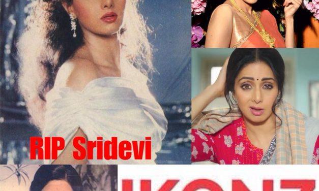 A shocked world mourns Sridevi