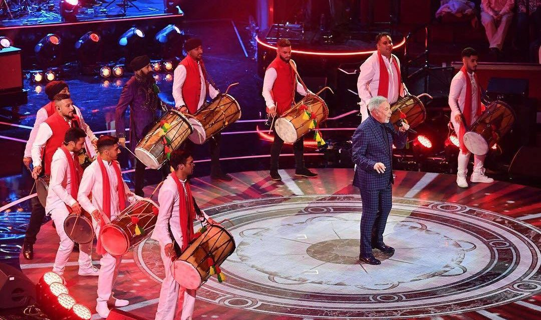 A right Royal performance by Dhol Foundation