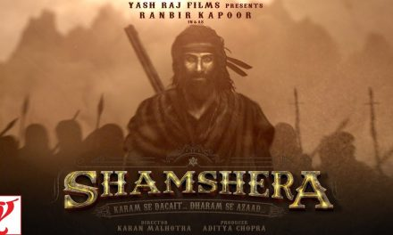 Ranbir Kapoor in and as Shamshera