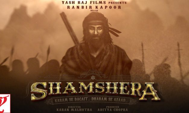 Ranbir Kapoor in and as Shamshera