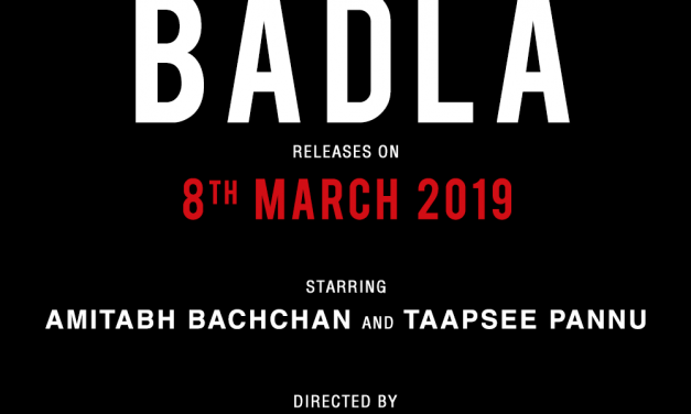 Amitabh Bachchan & Taapsee Pannu's 'Badla' gets release date