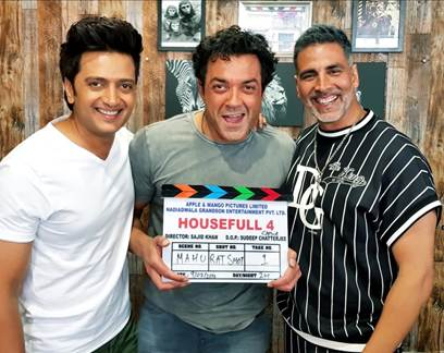 Shooting starts for Housefull 4