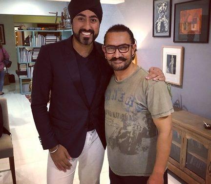 Magic Singh entertains Aamir Khan & Tendulkar