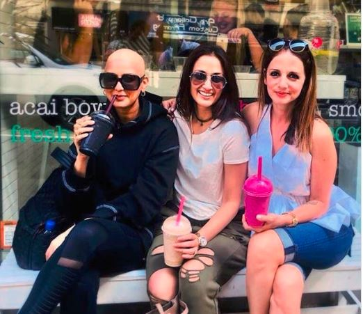 Sonali Bendre shares pic of her new look