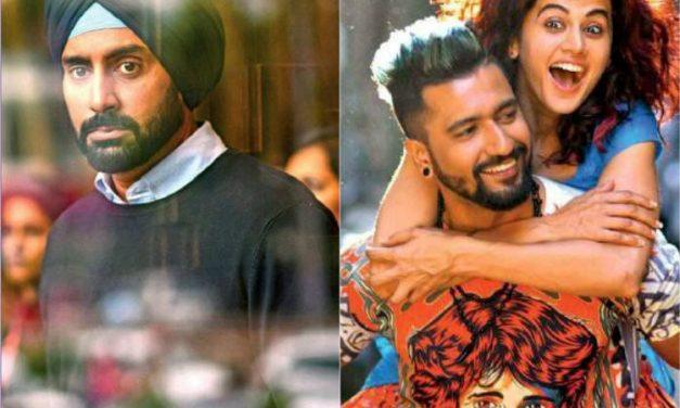 Manmarziyan starring Abhishek Bachchan, Vicky Kaushal & Tapsee Pannu